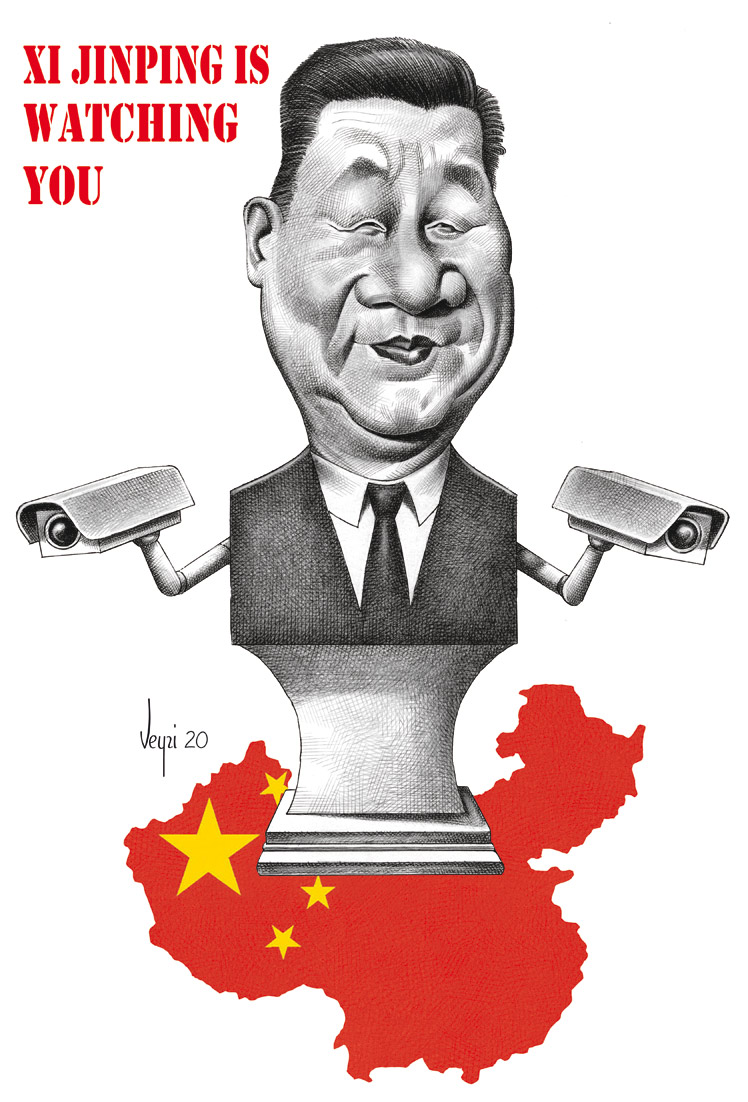 Xi jinping is watching you